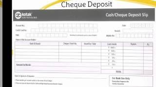 Image result for kotak mahindra bank CHEQUE DEPOSIT SLIP
