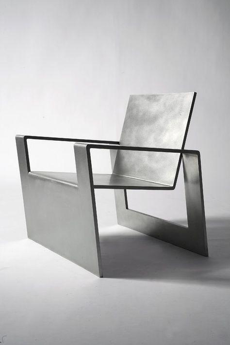 Na Gut Ob Dieser Metall Stuhl Bequem Ist Weiss Man Nicht Aber