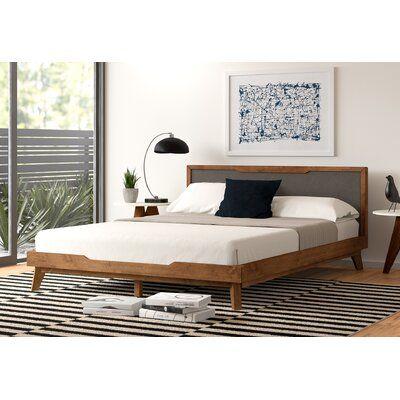 Merrinda Upholstered Platform Bed Allmodern In 2020