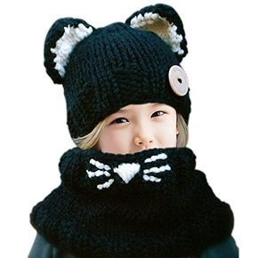 7aa499ab97ff8 My Black Cat Slouch Hat has chunky ribbing and cute cat ears. The simple  and free Crochet Cat Hat pattern works up quickly and makes a great gift.