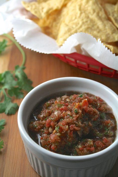 Copycat El Torito Salsa Easy Homemade Salsa El Torito Salsa Recipe Mexican Food Recipes