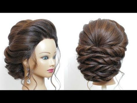 Latest Wedding Hairstyle Step By Step New Perfect Bridal Updo Youtube New Bridal Hairstyle Bridal Hair Buns Long Hair Styles