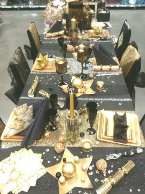 10+ Tischdeko schwarz gold weihnachten Trends