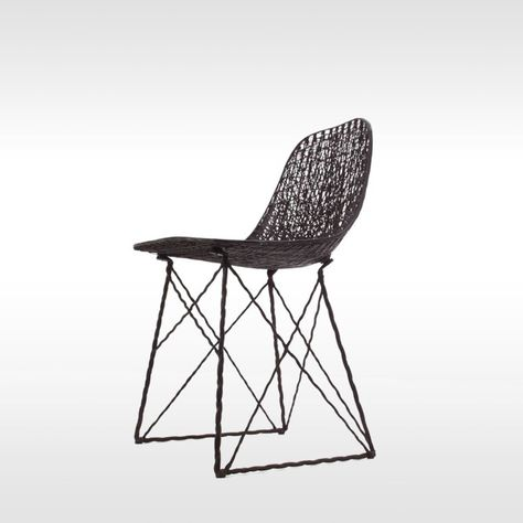 Design Stoelen Moooi.Moooi Stoel Carbon Chair Door Bertjan Pot En Marcel Wanders In