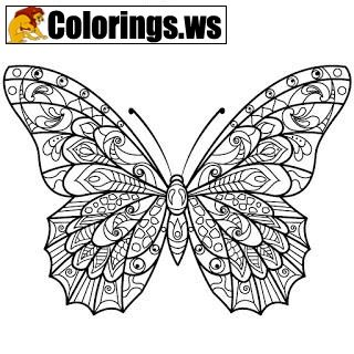 Butterfly Animal Mandala Coloring Pages Mandala Coloring Pages We Fill The Circle With Special Inne Butterfly Coloring Page Mandala Coloring Coloring Pages