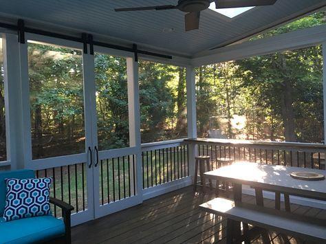 New Sliding Barn Door Exterior Screened Porches Ideas Screened Porch Doors Sliding Doors Exterior Screened Porch Designs