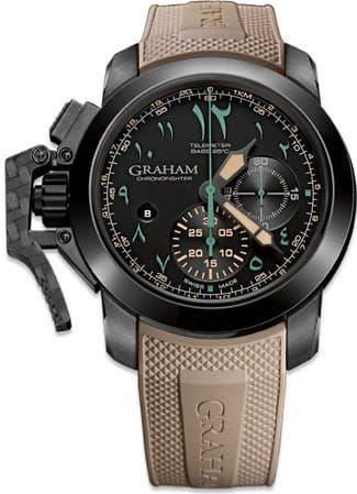 Graham Chronofighter Oversize Golden Dune 2CCAU.B12A.K93N - Exquisite Timepieces