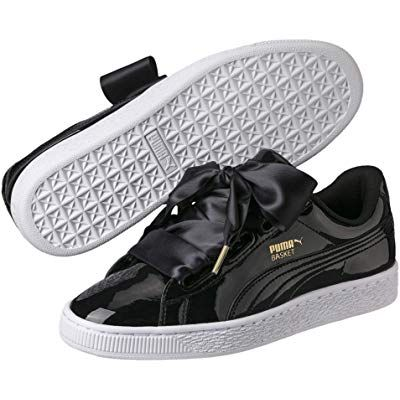 puma basket heart patent baskets basses femme