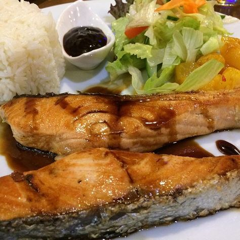 bodyip Grilled Salmon at Curry On...