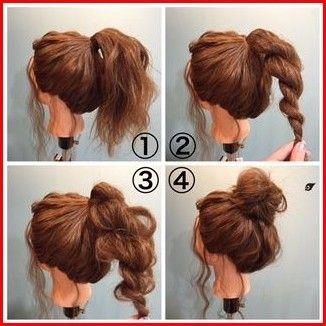 Cute Easy Hairstyles For Long Hair To Keep It Loose Short Hair Bun Hair Styles Hair Bun Tutorial