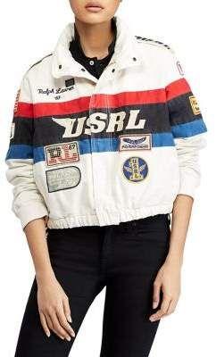 Polo Ralph Lauren Canvas Racing Jacket