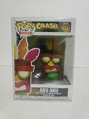Funko POP Games Crash Bandicoot Aku Aku #420