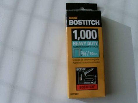 Spotnails 1606pg 1 Wide Crown Staples 3//4 16 Gauge Galv S2 Bostitch Type 10,...