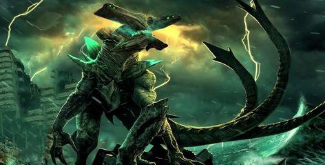 Pacific Rim Kaiju Concept Art