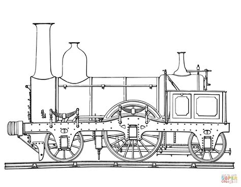 Steam Train Coloring Page Free Printable Coloring Pages With