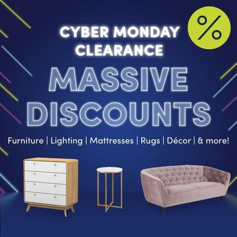 "Wayfair UK on Instagram: ""Didn't catch a Black Friday deal? Luckily for you, the discounts aren't over yet! Find your perfect home pick in our Cyber Monday sale via…"""