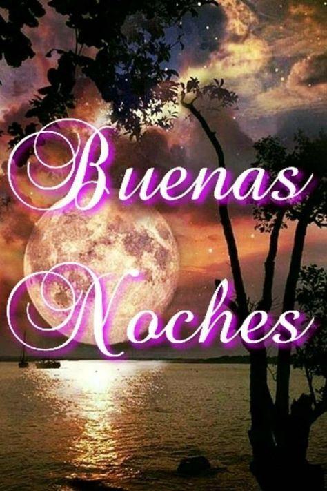 Картинки доброй ночи на испанском