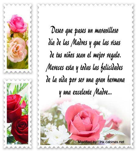 Mensajes Por El Dia De La Madre Para Tu Hermana Feliz Dia De La