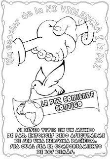 Actividades Escolares Actividades Sobre Valores Dia De La Paz Dibujos De La Paz Educación Para La Paz