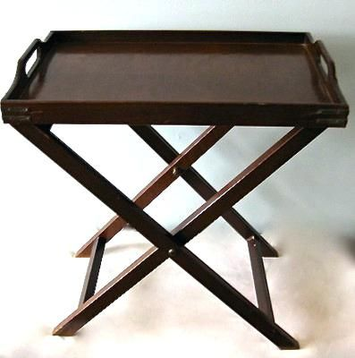 Wooden Folding Tray Table Https Www Otoseriilan Com In 2020 Table Serving Tray Butlers Tray Table Wooden Tv Trays