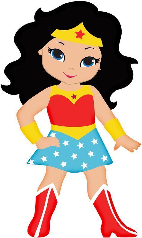 Wonder Woman Baby Clipart Mujer Maravilla Imagenes Mujer