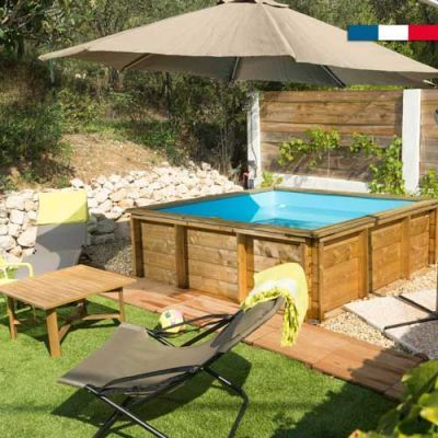Piscine Bois Tropic Junior By Bwt 2 X 2 M En 2020 Piscine Bois Amenagement Piscine Hors Sol Piscine Hors Sol Bois