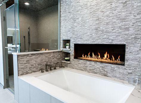 Wall Mount Fireplace 72