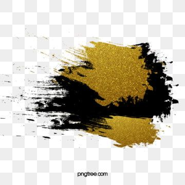 Ink Black Luxury Gold Brush Text Box Black Extravagant Gold Ink Png Transparent Clipart Image And Psd File For Free Download Black And Gold Marble Ink Mandala Background