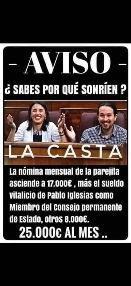Pablo Iglesias E Irene Montero Ricos Política Consejos Parejas