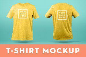 Download T Shirt Mockup Templatefront Back Psd Mockup Free Mockups Psd Shirt Mockup Tshirt Mockup Mockup