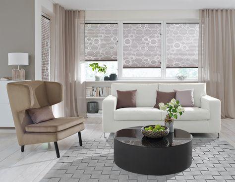 Gardinen und Vorhänge dienen nicht nur zum Sonnen- und Sichtschutz - gardinen wohnzimmer modern