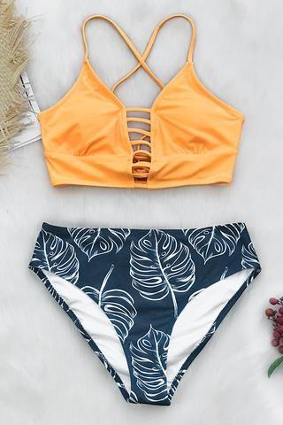 e03d55831b70 La combinación perfecta de color y estilo! El Bikini Estampado ...