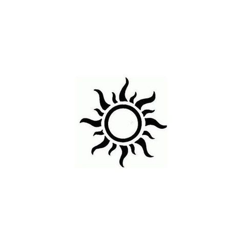 Tatto Ideas 2017 - Sun Tattoo Designs ❤ liked on Polyvore featuring accessories and body art...