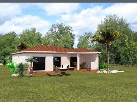 Maison du0027architecte sur terrain en pente à côté de Toulouse - plan maison terrain pente