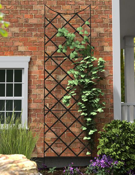 Panacea Giant Wall Trellis 9 Tall Gardener S Supply Wall