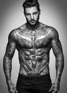 Top Tattoos For Men Ideas - Chest Tattoo Men Ideas