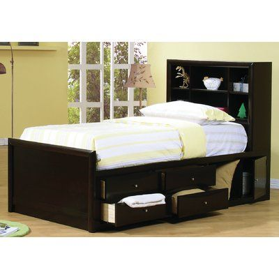 With Its Contemporary Look This Full Captain Bed Will Offer You