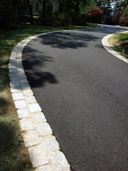 Top 40 Best Driveway Edging Ideas Inviting Border Designs Home