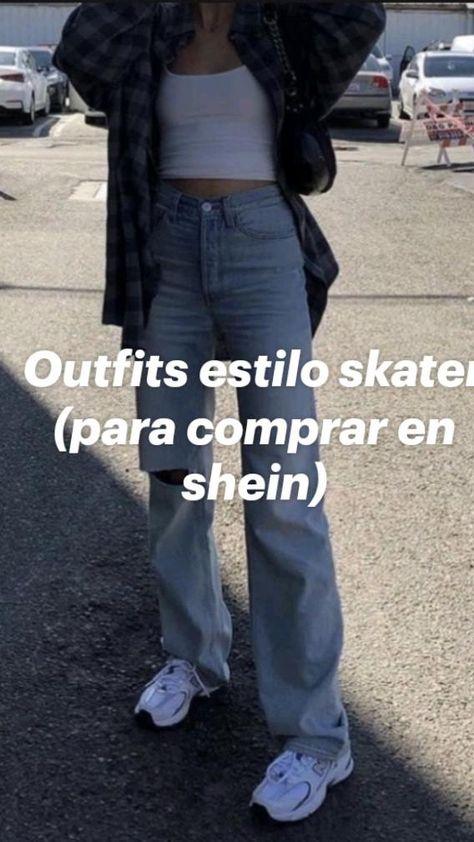 Outfits estilo skater (para comprar en shein)