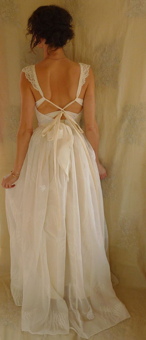 Fern Bustier Wedding Gown... whimsical dress by jadadreaming