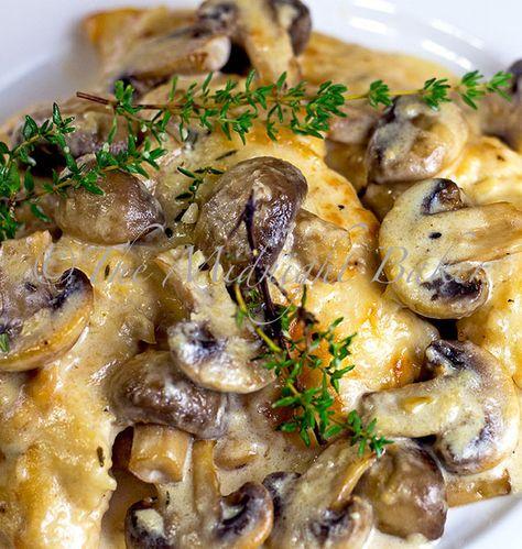 Recipe for Mushroom Asiago Chicken