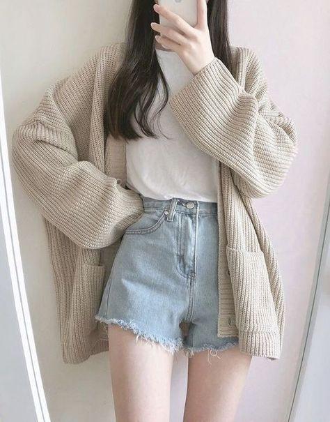 Korean Girl Fashion, Korean Fashion Trends, Korean Street Fashion, Korea Fashion, Japan Fashion, India Fashion, Ulzzang Fashion Summer, Korean Fashion Summer, Korean Fashion Casual