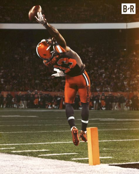 Obj Catch Browns Edition Cleveland Browns Football