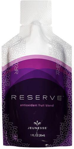 RESERVE™ gençlik dolu bir yaşam hissi verir. Bitki konsantreleri ve ekstratları içeren karışımıyla vücudunuzun enerjisini arttırmaya yardımcı olur. RESERVE™ egzotik meyve suları içeren doğal ve tatlı bir takviye edici gıdadır. Harika görünmenize ve hissetmenize yardımcı olur.