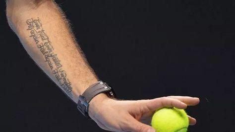 Il tatuaggio di Wawrinka