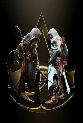 The Original Badasses Bayek Altair Assassin S Creed Bilder