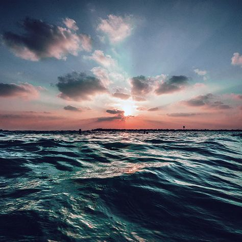 Papers.co wallpapers - nf44-sunset-sea-sky-ocean-summer-blue-water-nature - http://papers.co/nf44-sunset-sea-sky-ocean-summer-blue-water-nature/ - sea, sky