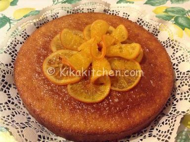 Ricetta Pancake Kikakitchen.Torta Con Fettine Di Arance Caramellate Ricette Torte All Arancia Idee Alimentari