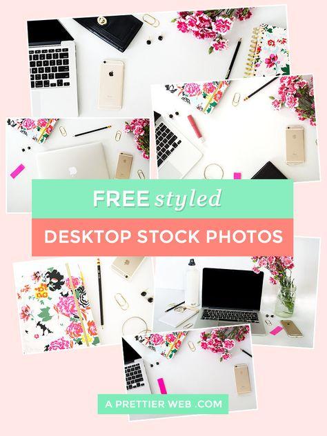 Free Styled Desktop Photos - A Prettier Web