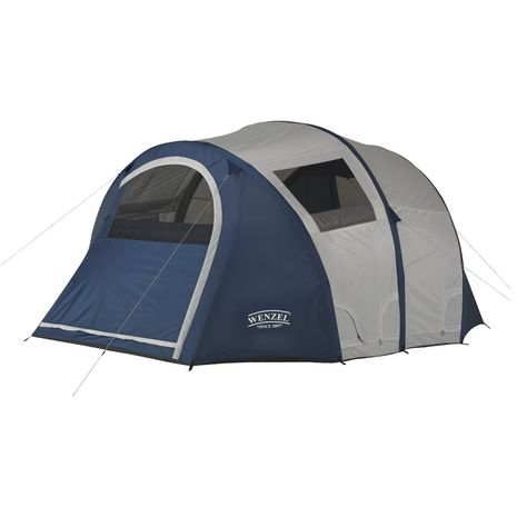Amazon Com Wenzel Vortex 11x9 Feet Six Person Airpitch Tent Sports Outdoors Air Tent Family Tent Camping Tent